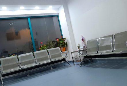 Receptia - Sala de Asteptare a Centrului Veterinar